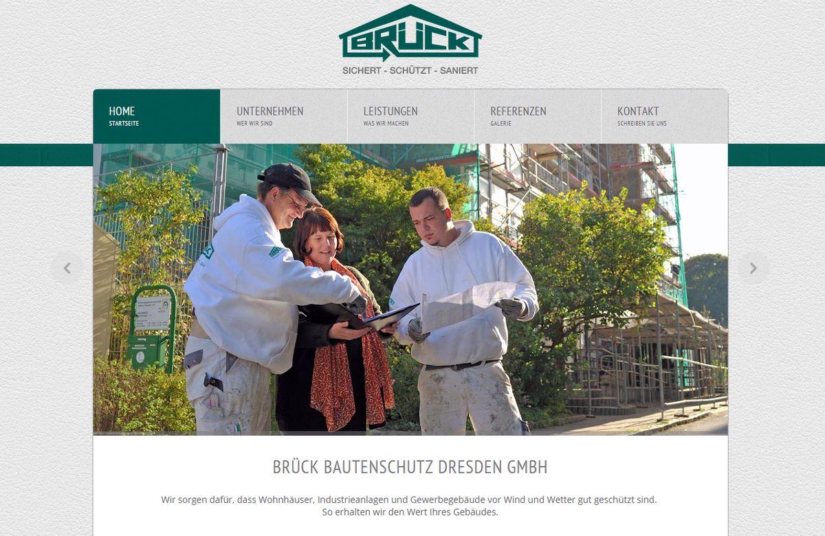 Texte und Fotos für Brück Bautenschutz